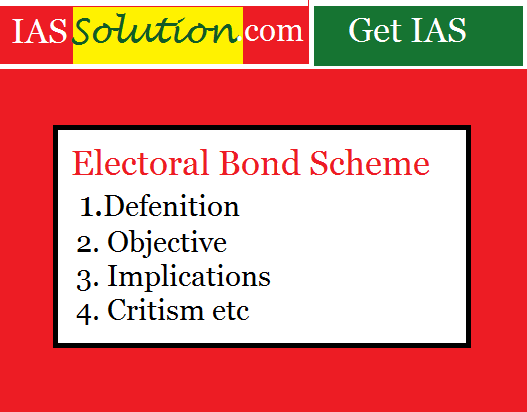Everything you want to know about Electoral Bonds Scheme(EBS).